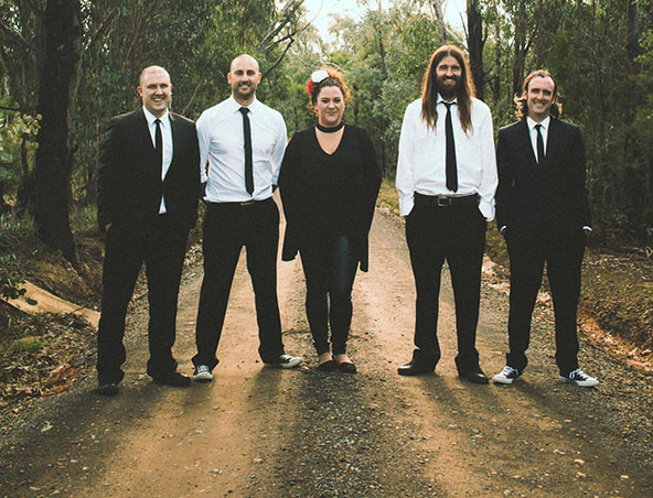 Black Tie Party Cover Band - Musicians Entertainers - Singers Melbourne